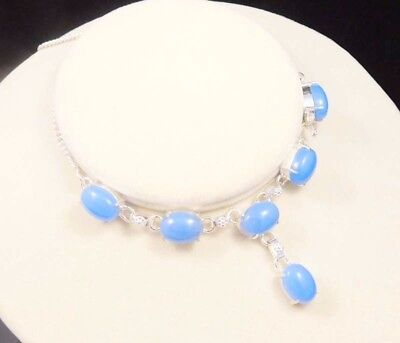 Chalcedony .925 Silver Charming Necklaces Jewelry JC1938-JC1987