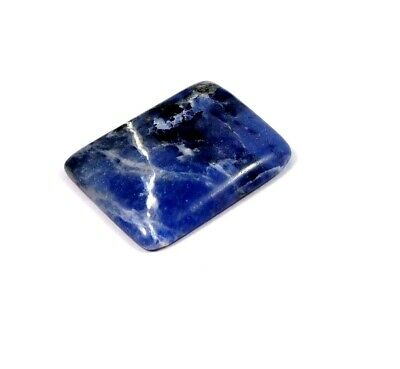 31 Cts. 100% Natural Sodalite Loose Cabochon Gemstone NG21743