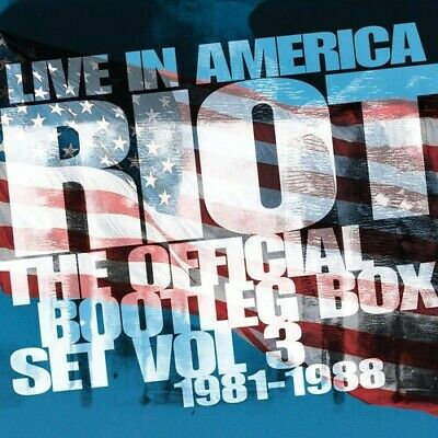 PRE-ORDER Riot - Live In America: Official Bootleg Box Set Vol 3 [CD New]