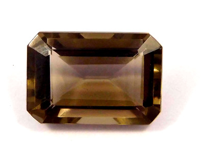 Treated  Faceted Smoky Loose Gemstones 14 CT 17x12 mm NG16118
