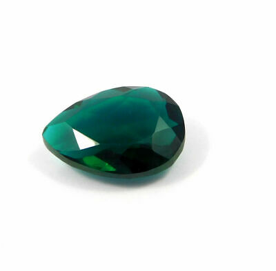Treated Faceted Green Apatite Gemstone  35  CT 28x15x10mm RM17952