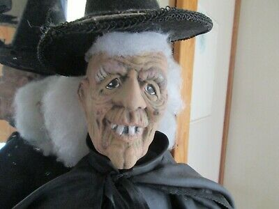 Realistic Looking Gorgeous Display Dressed Model WITCH Dummy Doll