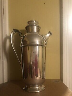The Sheffield Silver Company Silver Plate Cocktail Shaker/Server