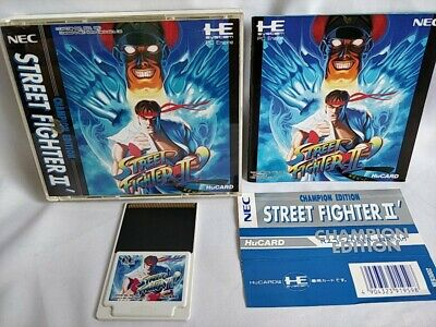 STREET FIGHTER 2 DASH PC ENGINE DUO GT Turbografx Turbo Duo