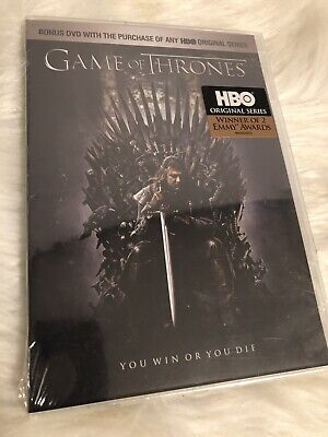 Game Of Thrones Episode One Winter Is Coming DVD Movie New/Sealed