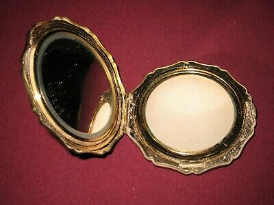 """Vintage Stratton Compact 'Gold Rose"""""""