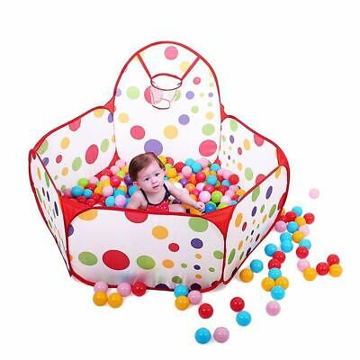 Portable Indoor Kids Baby Children Game Play Toy Tent Ocean Ball Pit Pool