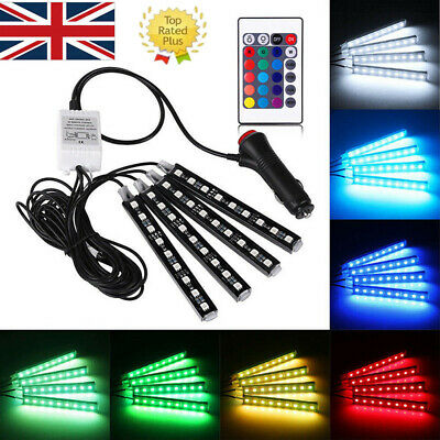 LED Interior Footwell neon Lights Volkswagon VW Polo Lupo S GTi 1.6 1.8T SE TDi