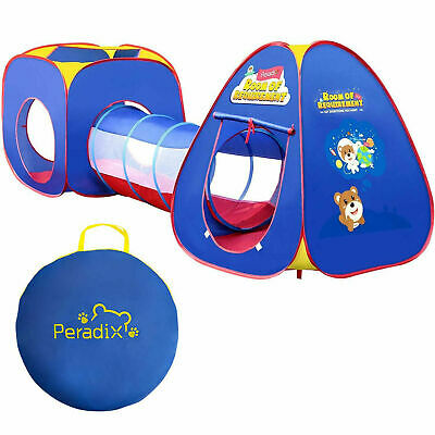 Portable Pop-Up 3pcs Childrens Baby Play Tent And Tunnel Ball Pool Pit Playhouse