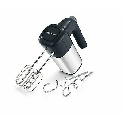 Morphy Richards 400W Desire 5 Speed Grey Black Hand Mixer Beater Turbo Feature