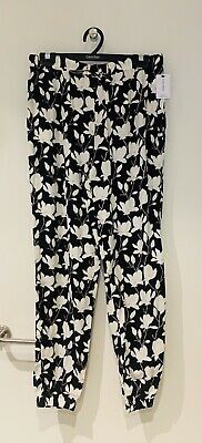 Calvin Klein Woven Viscose Sleep Pant Kelly Floral Size S