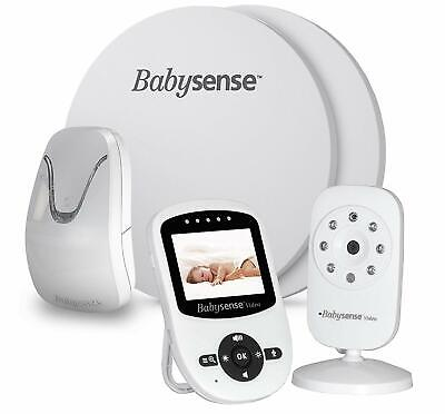 Babysense - the Monitor Original of Breathing for Babies with Video Baby Monitor