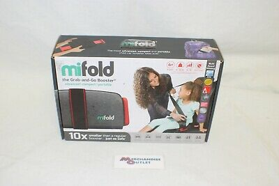 MiFold Grab-and-Go Booster Seat (Grey)