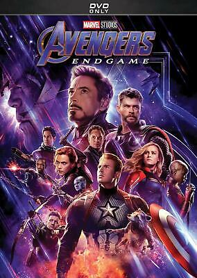 Avengers Endgame DVD. New and sealed. Free delivery