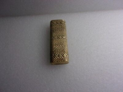 Cartier plaque d or  lighter wrapped in a 750/18 kt gold foil with does not work