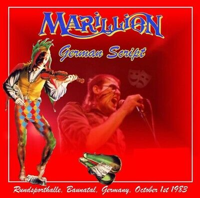 Marillion live Germany 1983 2cds FM Soundboard