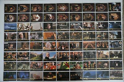 Harry Potter and the Sorcerer's Stone Trading Base Card Set 90 Cards
