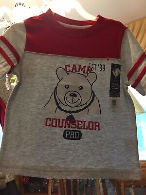 Shirt For Toddler Boy, Size 3t, All Cotton, Faded Glory Brand