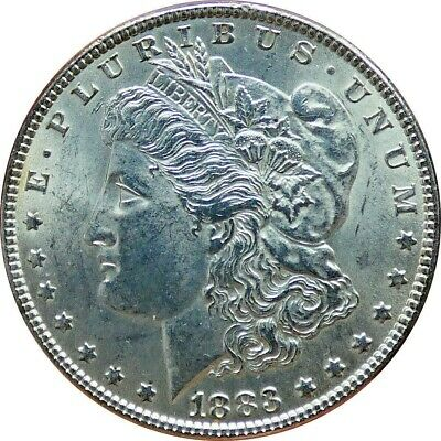 1883-P Morgan Silver Dollar UNC Condition - b