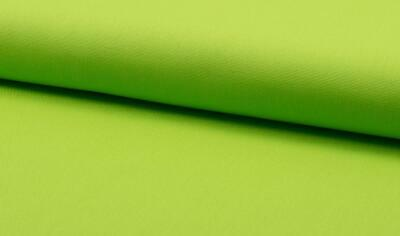 Luxury 100% Cotton Canvas Fabric Craft Material - LIME