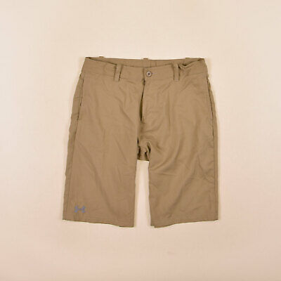 Under Armour Junge Kinder Shorts Hose Freizeithose Gr.149 Loose Beige 74830