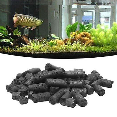 For Aquariums Fish Tank Filter Media Activated Carbon Charcoal Mini Granulated