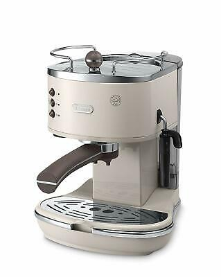 De'Longhi ECOV311.BG NEW Icona Vintage 1100W 1.4L Espresso Ground Coffee Machine
