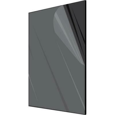 "Acrylic Plexiglass Plastic Sheet   1/4"" Thick - You Pick The Size Black"
