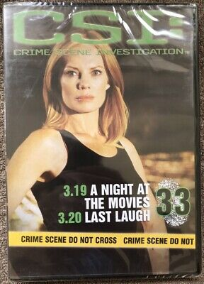 CSI - No 33 - A Night At The Movies & Last Laugh - BRAND NEW AND SEALED