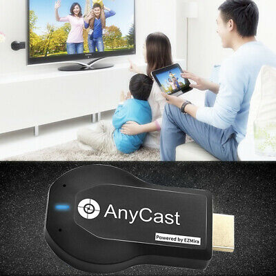 AnyCast M9 Plus WiFi Display Dongle Receiver Airplay Miracast HDMI TV DLNA 1080P
