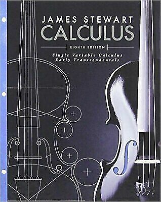 Single Variable Calculus Early Transcendentals by James Stewart 8th Edition