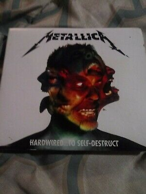 Hardwired...To Self-Destruct [Digipak] by Metallica (CD, Nov-2016, 2 Discs)