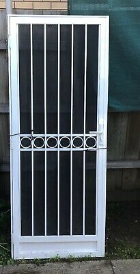 CUSTOM SECURITY SCREEN Doors - Sliding or Hinged, Any Colour