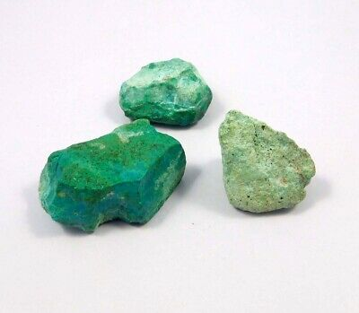 142 Cts. 100% Natural Chrysocolla Rough Lot Mineral Specimen NG21508
