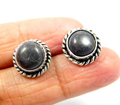 Picasso Jasper .925 Silver Plated Handmade Stud Earring Jewelry JC8228