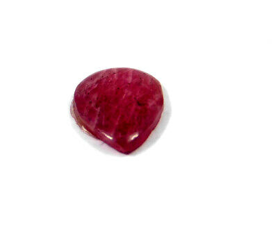 3 Cts. 100% Natural Ring Size Ruby Loose Cabochon Gemstone RRM19127