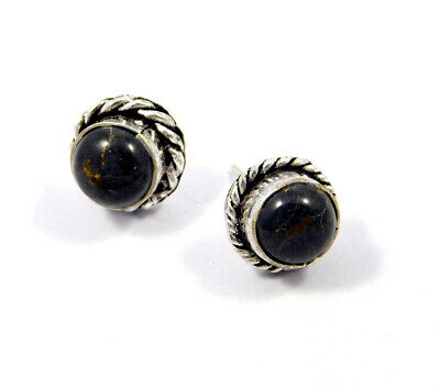 Picasso Jasper .925 Silver Plated Handmade Stud Earring Jewelry JC8232