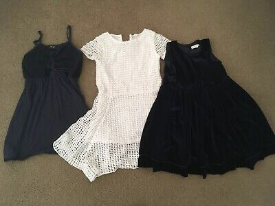 3 X Size 6 - 8 Dresses -Pumpkin Patch, Country Road And Bardot Junior