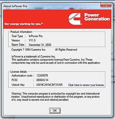 Cummins Inpower Pro V11.5 + Latest PGA Files (Calibration Files) + Install Video