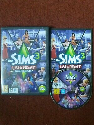 The Sims 3: Late Night Expansion Pack (PC: Windows/ Mac, 2010) EA