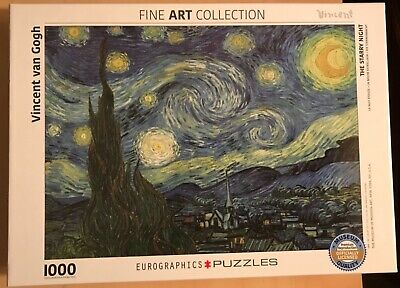 Eurographics The Starry Night by Vincent Van Gogh 1000 Piece Puzzle Fine Art