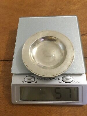 Chinese Vintage  90 Grade Siver Dish