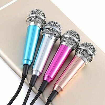 Mobile K-Song Microphone With Headphones Singing Bar Mini Microphone W1