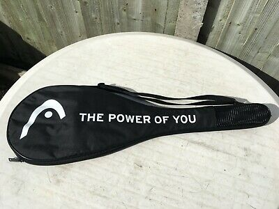 Brand New HEAD Squash Racket Cover / Bag with Shoulder Strap - Fits Any Make