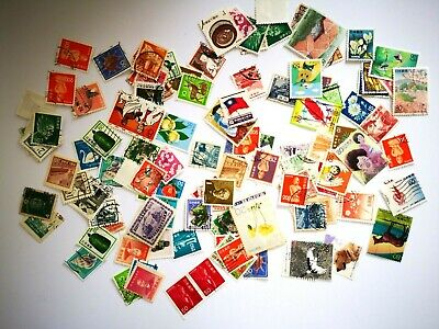 100+ Mixed Japanese Stamps Franked Various Periods