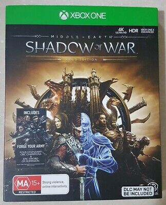 Middle-Earth: Shadow of War Gold Edition (Xbox One)