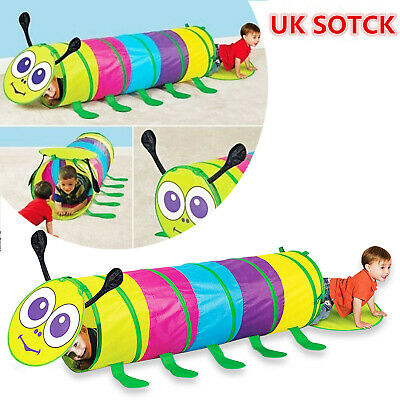 Pop-Up Play Tunnel - Children Crawl Tube For Kids Baby Indoor or Outdoor Game