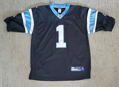 Men's  Carolina Panthers Jersey  Cam Newton Small 46