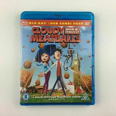Cloudy With A Chance Of Meatballs Blu-ray, SUPERB KIDS&FAMILY FUN 4 ALL-FUNNY