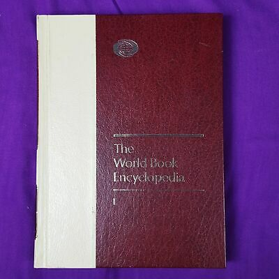 1986 The World Book Encyclopedia Hardcover History Book Volume 12 L (L-LZ-1)